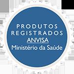 Produtos registrados na ANVISA - Ministério da Saúde
